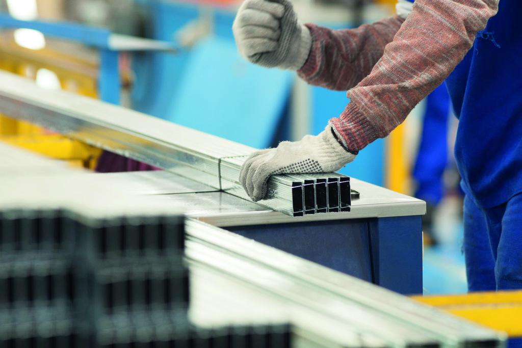 Drywall eficiência em aço